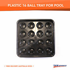 1x Plastic Quality 16 Ball Tray for 8 ball Pool Billiard Balls Free Delivery
