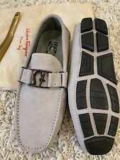 men`s Salvatore Ferragamo Sf moccasin gray Size us 8.5 eur 41