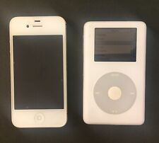 Apple iPod Classic 4th Generation White (20 GB) & iPhone 5 (Locked) BUNDLE Used
