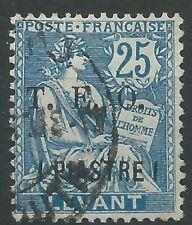 Syrien Syria 1919 used Mi.107 Freimarken Definitives Frankreich France [st5076]