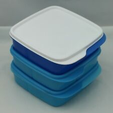 Tupperware Divided Square Lunch and Things Container -Set of 3