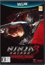 Ninja gaizen 3: Razor's edge Wii U-Comme neuf-Super Rapide De Première Classe Livraison gratuite