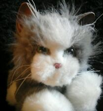 Fur Real Gray&White  Meowing Battery Operated  Moving Cat Kitten Kitty 2006