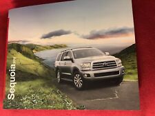 2011 Toyota Sequoia SUV 16 Page Deluxe Sales Brochure