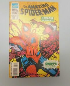THE AMAZING SPIDER-MAN ANNUAL #28, MARVEL COMICS MODERN AGE, 1994 CARNAGE APP