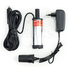 Tauchpumpe 12V 230V für Diesel Öl Heizöl 38mm Zigarettenanzünder  SN909-230V