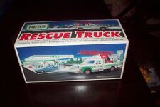 1994 Vintage Hess Rescue Truck - New in Box - MINT Condition!