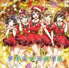 Used Poppin'Party Christmas no Uta First Limited Edition CD Blu-ray Japan