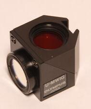 Olympus U-MWIG Filterwürfel Filter cube Fluoreszenz Mikroskop microscope