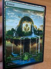 1x Forest #10 Extended S-type Full Art Custom Altered Basic Land MTG
