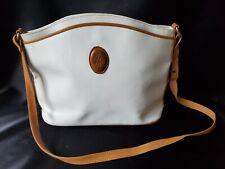 Yves Saint Laurent Shoulder Bag White Leather NEEDS TLC LOVE 💜 Handbag 👜💜 YSL