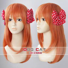 New Fashion Monthly girls Nozaki Jun Sakura Chiyo Orange Cosplay Wig Full Wig