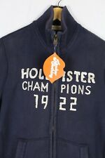 Mens HOLLISTER Sweatshirt Jacket URBAN SPORT CHAMPIONS Sweater ZIPPER Large P41