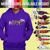 Goku Vegeta Frieza Gohan Team Anime Pullover Sweatshirt Hoodie Sweater Unisex
