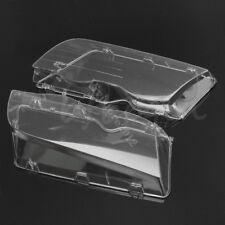 Headlight Cover Lenses Head Lamp Lens For BMW E46 3 Series 4DR Wagon Sedan 99-01