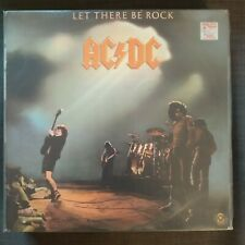 Lp AC/DC - Let There Be The Rock - ATCO Canada Nm