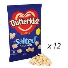 BUTTERKIST SIMPLY SALTED POPCORN 58g x 12 BAG'S PARTY WHOLESALE 244739