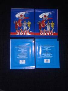 ***NEW*** 4x SEALED PACK 2018 WORLD CUP RUSSIA