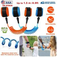 Toddler Kid Baby Safety Anti-lost Strap Link Harness Child Wrist Band Belt Reins