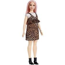 New 2018~2019 Barbie Fashionistas 109 Pink Hair Curvy Doll Fast Shipping Guar