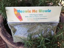 Homegrown Natural Catnip & Lemongrass Blend for Cats and Kittens