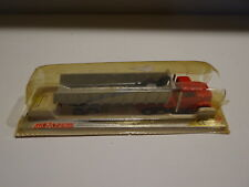 Majorette Camion benne 314 rouge et argent en boite