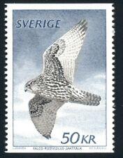 Sweden Scott #1351 MNH Gyrfalcon Bird Fauna CV$13+