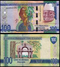 GAMBIA 100 DALASIS (P35) N. D. (2015) UNC