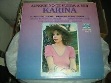Karina-Aunque No Te Vuelva A Ver-LP-Orfeon Records /Latin Pop/Karina