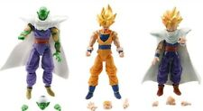3 PERSONAGGI DRAGON BALL -16Cm.- Super Z Sayan Goku Figure Modellino Statuina