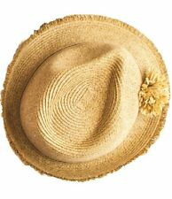 NEW Giselle fedora with natural pompom from Sundaise