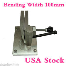 USA Stock-Dual-axis Metal Channel Letter Angle Bender Tools-Bending Width 100mm