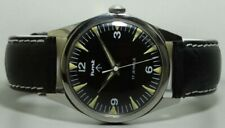 Vintage Military Hmt Winding 17 Jewels Mens Wrist Watch Old Used Antique k652