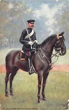 POSTCARD  MILITARY    2nd  Life  Guards   Trooper      Tuck