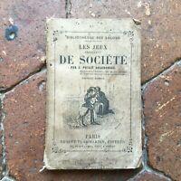 Poisle Desgranges Las Juegos Inocentes De Société Biblioteca Con Flammarion