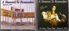 Elvis Presley CD A Moment To Remember - Live in Las Vegas 1972