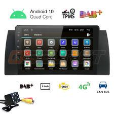 "9"" DAB Car stereo for BMW 5 Series E39 E53 X5 M5 Android 10.0 SatNav GPS WIFI 4G"