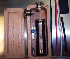 MAHOGANY Wood Box Mod DIY Kit 18650 Enclosure Mosfet Hammond 1590A ++ AUTHENTIC
