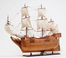 "Arabella Winthrop Fleet Vessel Tall Ship 36"" Built Wood Model Sailboat Assembled"