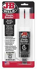 J B Epoxy Bumper Auto Plastic Panel Repair Syringe Kit Durable Flexible Easy Use