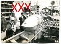 KREUZER EMDEN - orig. Foto, Linientaufe am 1. Januar 1927, Neptun mit Hofstaat