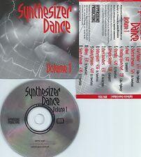 SYNTHESIZER DANCE VOLUME.1-SWITZERLAND-HYPERSOUND RECORDS HYPS 71005-CD-NEW