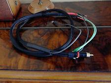 Thorens TD125 - TD150 - TD160  phono cable kit, goldplated, CANARE - NEUTRIK