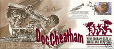 Doc Cheatham Signed New Orleans Jazz Fest Cachets (#8)