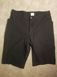 "KITSBOW Mens MTB Soft Shell A/M Shorts size 34"" (measures 32""), Black"
