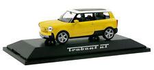 """Trabant nT """"New Trabi"""" jaune - Herpa - Echelle 1/43"""