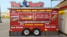 6' x 14' 2010 Erskine and Son Inc Food Concession Trailer / Mobile Food Unit for