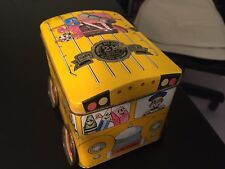 Barringer Wallis and Manners Tin Bus with Advertising + St Patricks Day Ty Erin+
