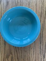 Contemporary Fiesta Ware New Turquoise Blue Round Vegetable Serving Bowl 40oz