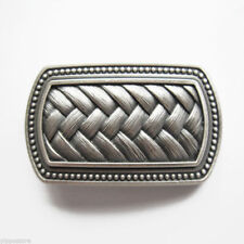 Silver Plated Irish Celtic Knot Metal Fashion Belt Buckle